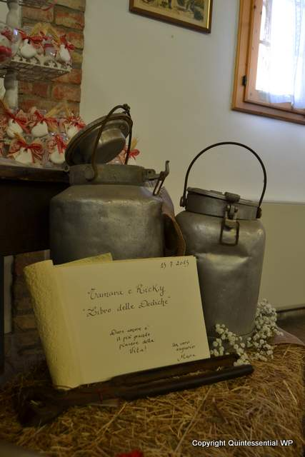 Allestimenti per matrimonio country chic