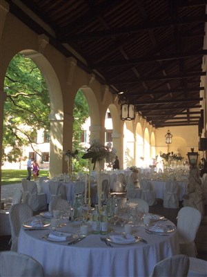 matrimonio d'estate in giallo: location