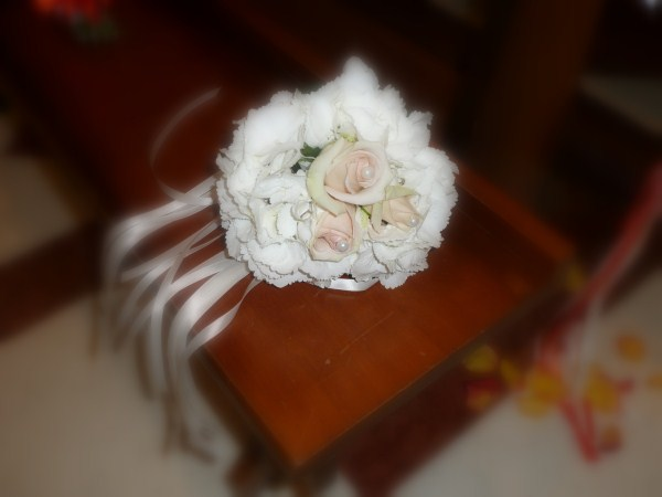 bouquet sposa - matrimonio color arancio