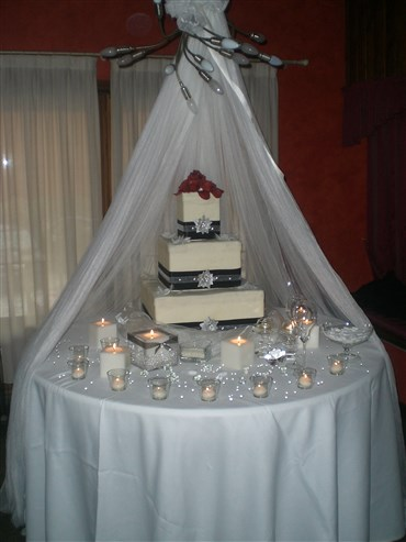torta nuziale black and white per matrimonio black and white