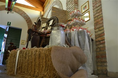 allestimento location per matrimonio country chic