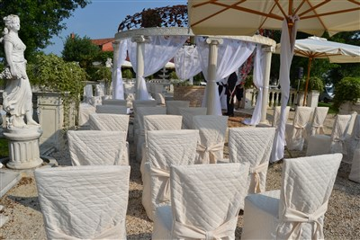 allestimento per matrimonio country chic