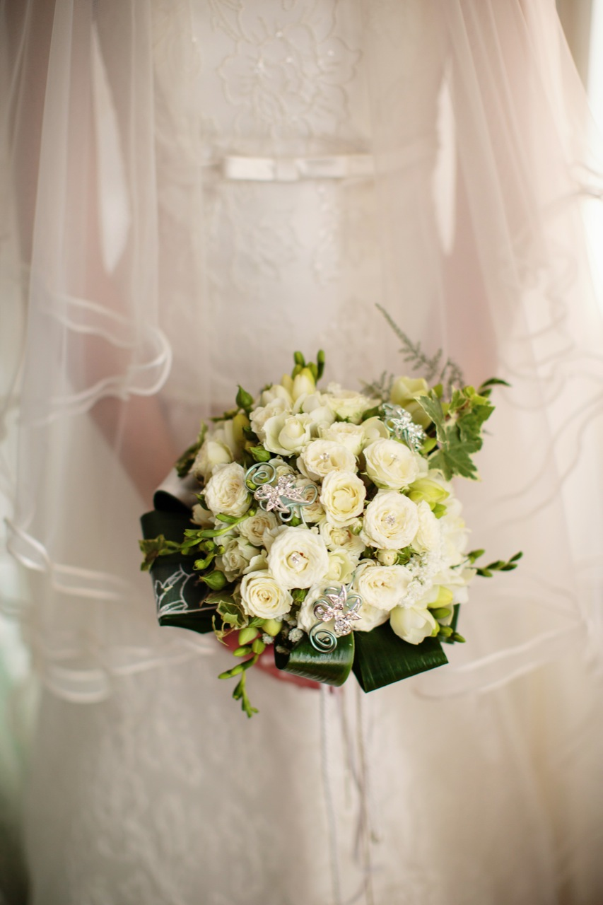 Bouquet sposa matrimonio tiffany